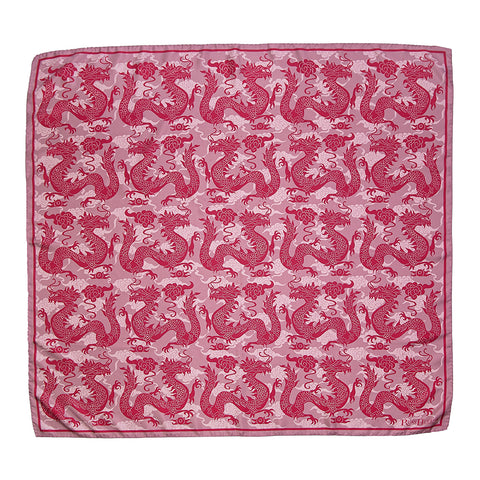 Pink Dragons Scarf