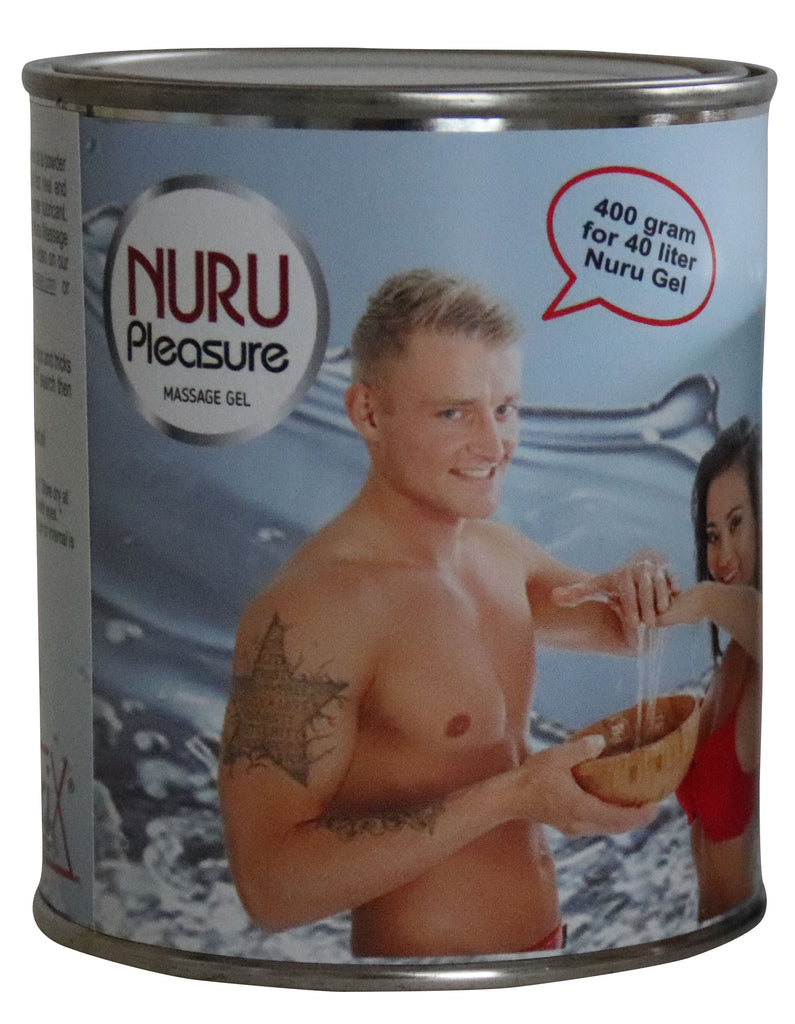 Nuru Powder canned good for 40 liters of Nuru Gel