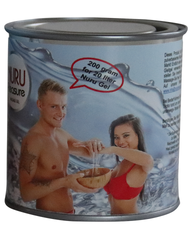Nuru Powder canned good for 20 liters of Nuru Gel