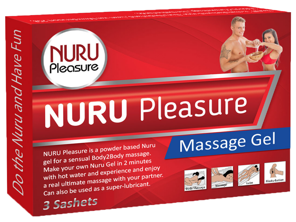 Nuru Pleasure Powder Gel 30 Sashet
