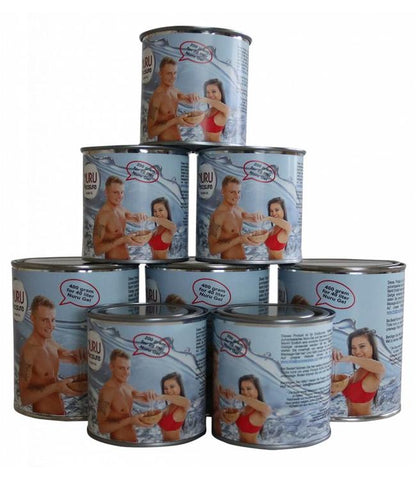 Nuru pleasure powder in Tin- good for 20, 40, 60 or 100 liters of nuru gel