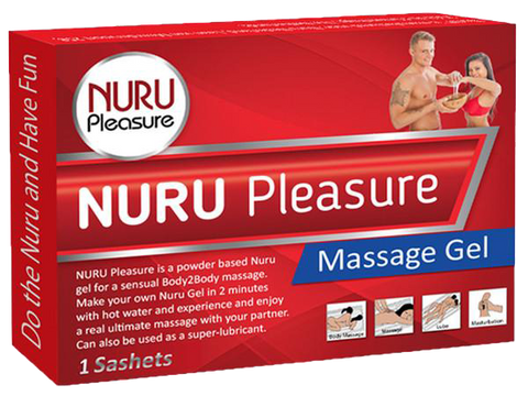 Nuru Pleasure Powder 1 Sashet