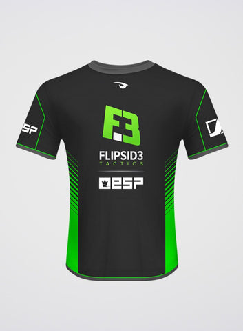 Flipsid3 Tactics Dark Grey Pro Player Jersey