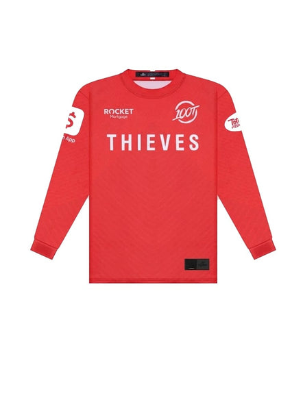 100 Thieves Player Jersey 2020 Red