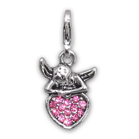 Clasp Charms - Pink Colour Varieties - Crafters Market
