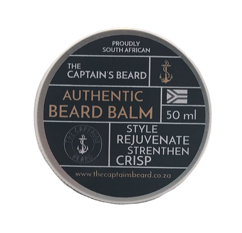 Beard Balm Crisp 50ml - Crafters Market