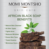 Handmade African Black Soap by Momi Montsho - Crafters Market