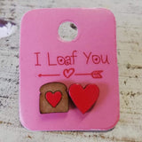 Miss Match Love Earrings - Click to see more designs - Crafters Market