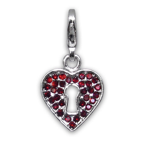 Clasp Charms - Red Colour Varieties - Crafters Market