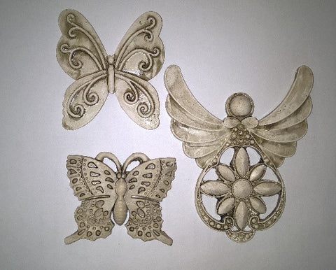Ceramic Insert Pack - Butterfly - Crafters Market