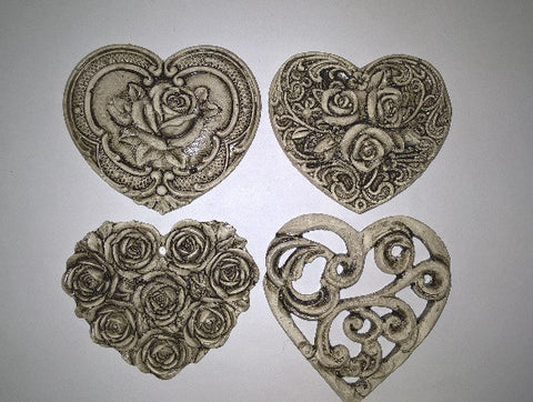 Ceramic Insert Pack - Hearts - Crafters Market