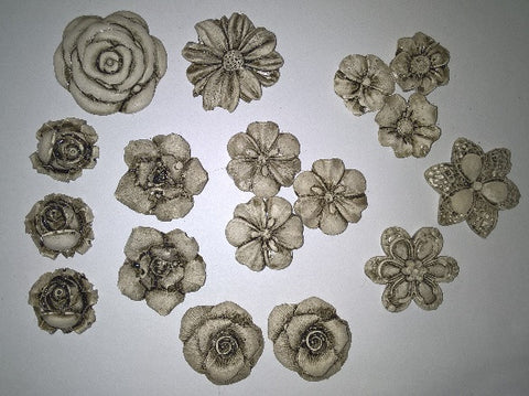 Ceramic Insert Pack - Flowers Small - Crafters Market