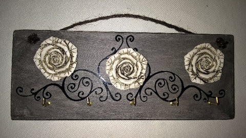Key Holder - Roses - Crafters Market
