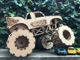 Monster Truck Kit - Crafters Market
