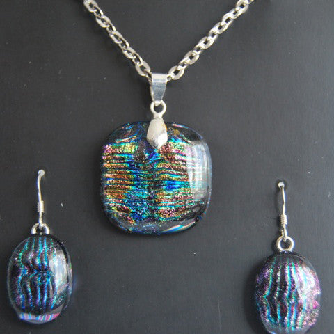 Fusion Glass Pendant Set 2 - Crafters Market