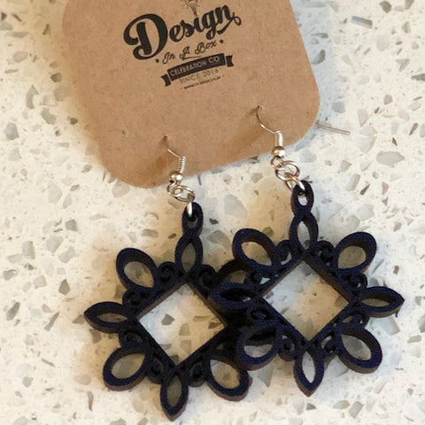 Laser Cut Earrings - Crafters Market