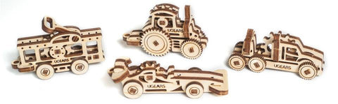 U-Fidget Vehicles - UGEARS - Crafters Market