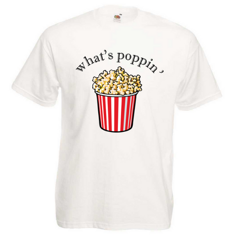 """What's Poppin"" T-shirt - Crafters Market"