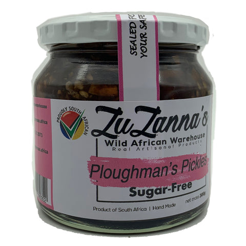 ZuZanna's Ploughman's Pickles (Sugar-Free) - Crafters Market