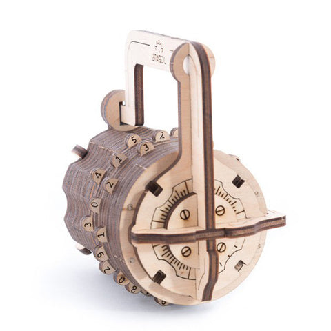 Combination lock - UGEARS