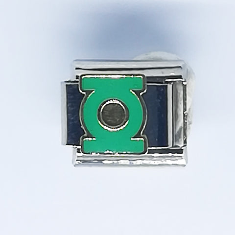 Nomination Style Bracelet Charm - Green Lantern - Crafters Market