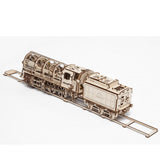 Steam Locomotive with Tender - UGEARS