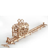 Tram on Rails - UGEARS - Crafters Market