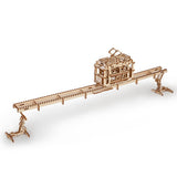 Tram on Rails - UGEARS
