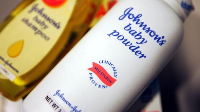 Talcum Powder Possible Cancer Concerns Warning - J & J to payout $417m