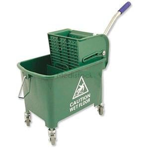 Bucket 20L Green with Wringer
