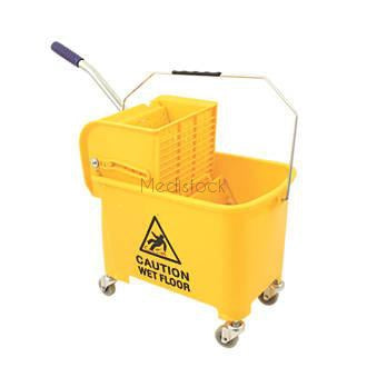 Bucket 20L Yellow with Wringer