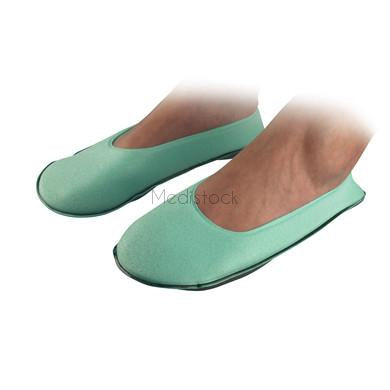 Patient Foam Slippers, Large Green, 100 Box