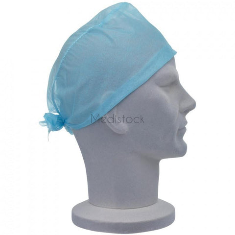 Cap, Theatre Operating, Blue, Tie-Back, 100 Box | £33.30
