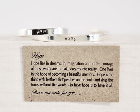 "The ""Wish"" Collection - HOPE"