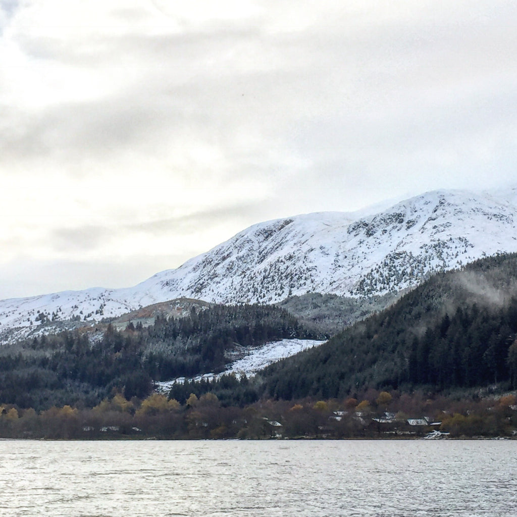 Loch Lubnaig  /  first snowfall of the year