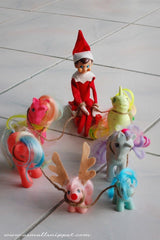 Elf on the shelf sleigh ride