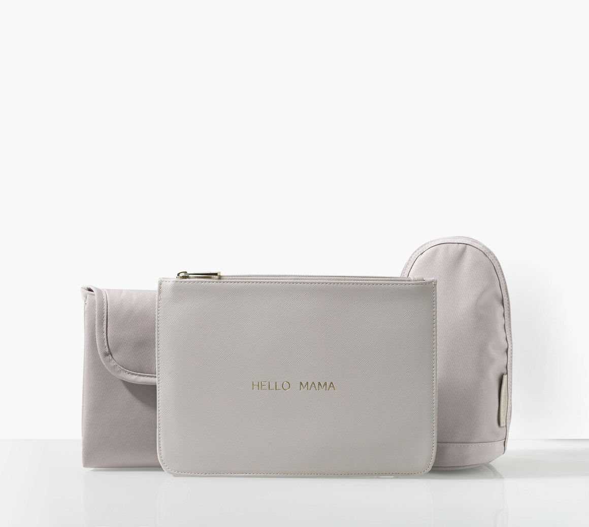 Heather tan Baby Changing Bag