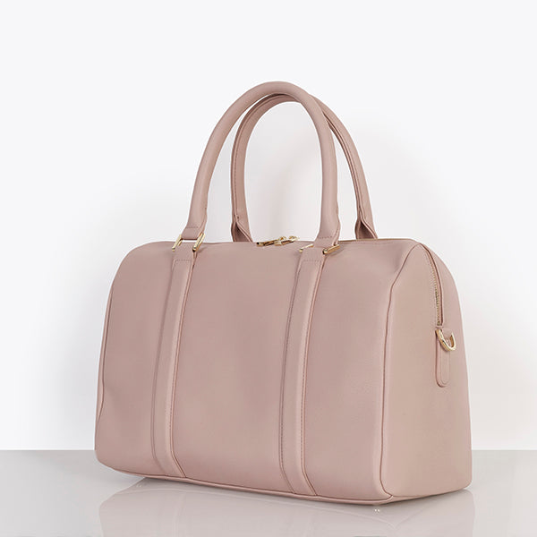 Heather Baby Changing Bag - Dusky Pink