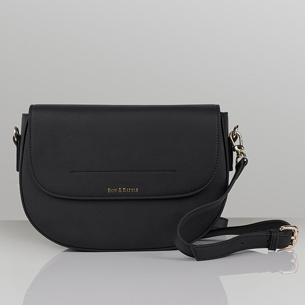 Marcelle Mini Baby Bag - Black