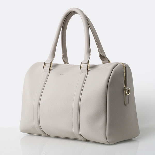 Heather Baby Changing Bag - Light Grey
