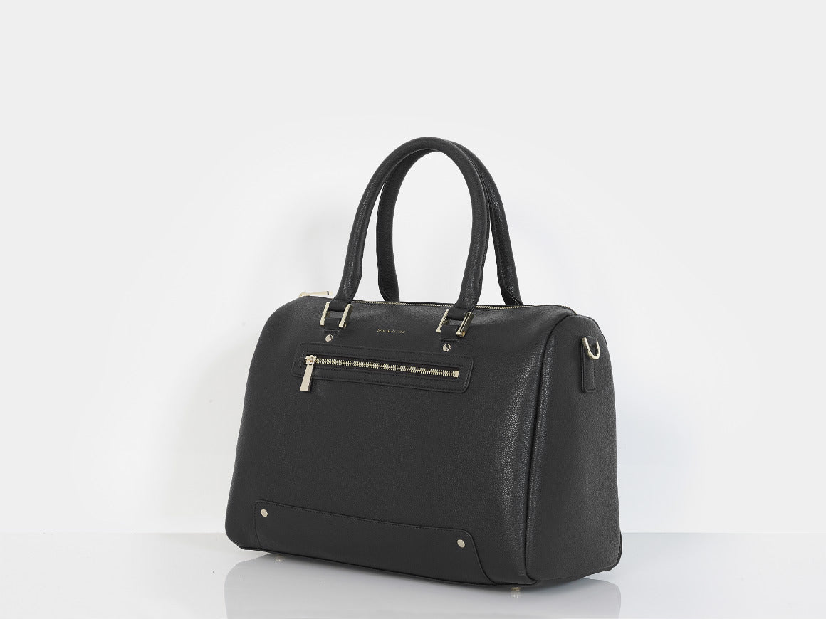 Changing bag black Bow & Rattle Rosie