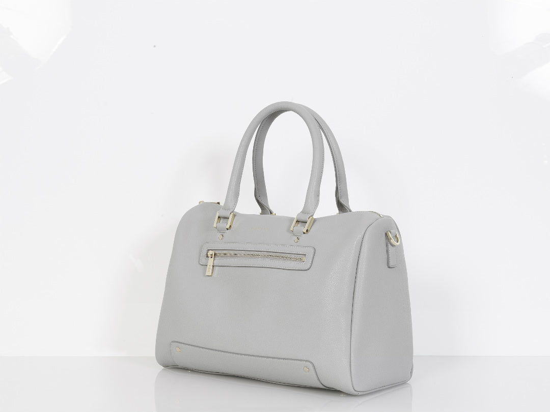 Luxury grey diaper bag