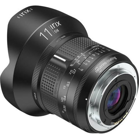 Irix 11mm F4 Firefly Ultra Wide Angle Prime Lens - Crooked Imaging