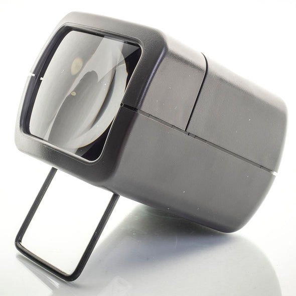 AP Slide Viewer for 35mm Photo Mounted Slides 2x Magnification Desktop Handheld - Crooked Imaging