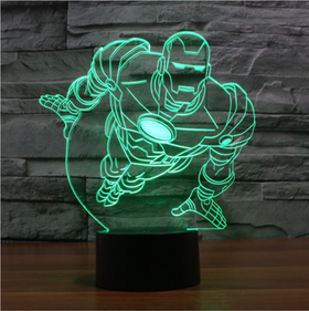 Iron Man 3D Lamp v2