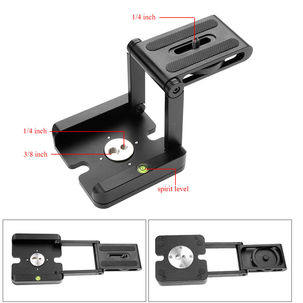 Folding Z Pan & Tilt Tripod Head