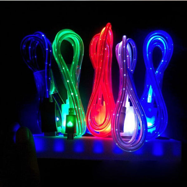 LED Android and Apple Charger Cable