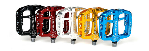 Chromag Scarab pedals at Bike The World Benelux