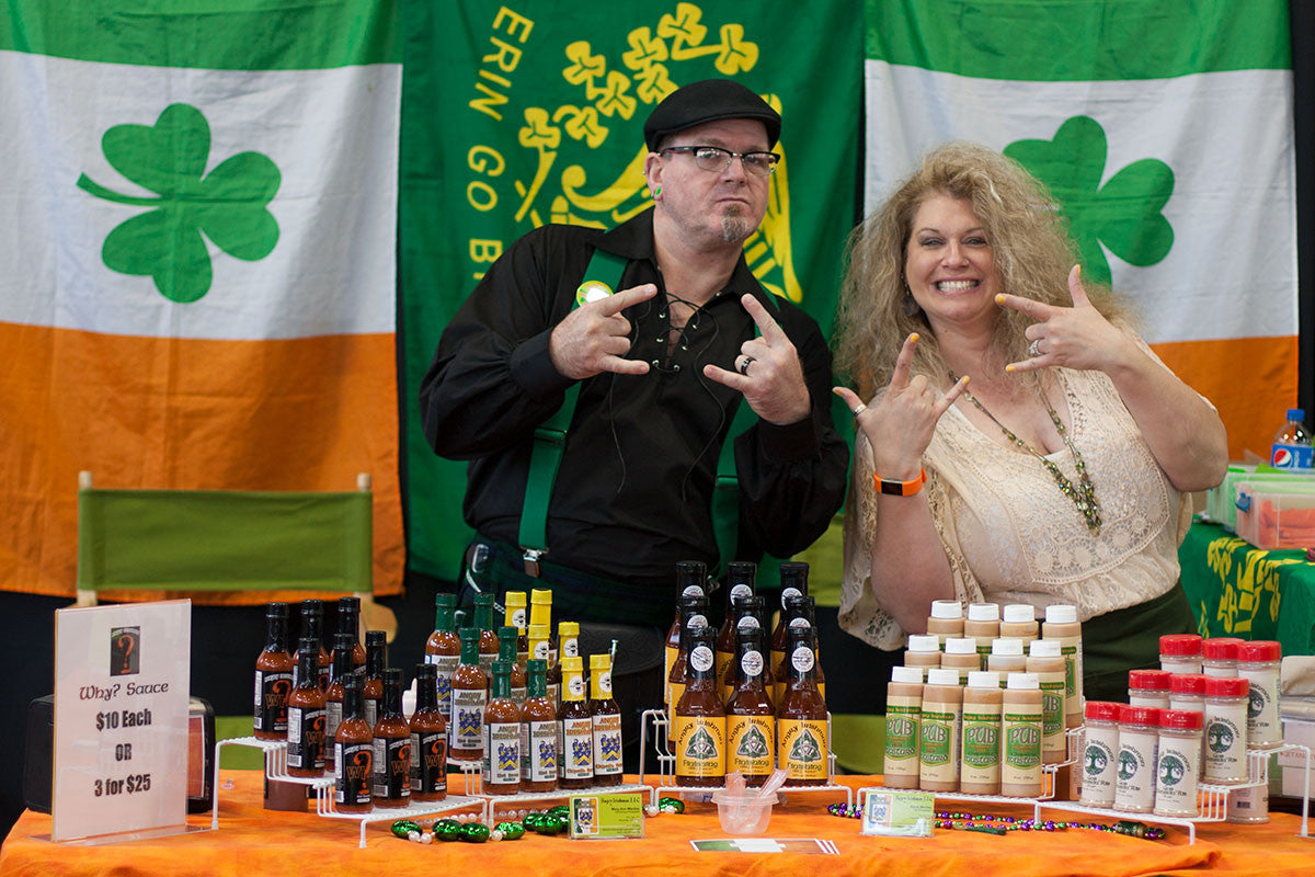 Kevin and Mary Ann Mackey of Angry Irishman