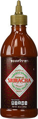 Tabasco Sriracha Sauce - Authentic Thai Chili Sauce 20 Ounce Plastic Bottle